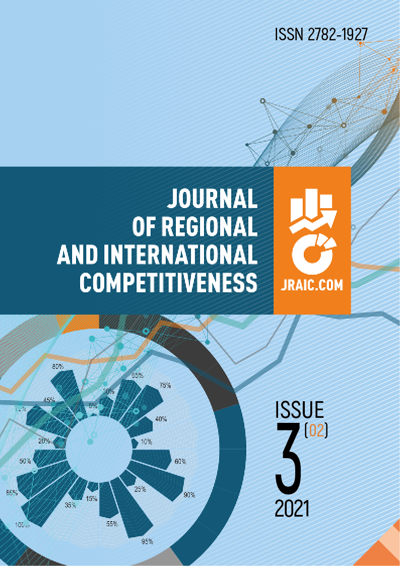 View No. 2 (2021): JOURNAL OF REGIONAL AND INTERNATIONAL COMPETITIVENESS