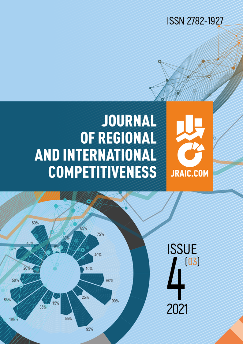 View No. 3 (2021): JOURNAL OF REGIONAL AND INTERNATIONAL COMPETITIVENESS